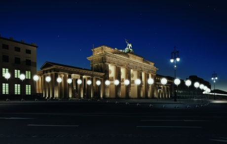 25 Jahre Mauerfall - Berlin bereitet sich auf großen Besucherandrang vor