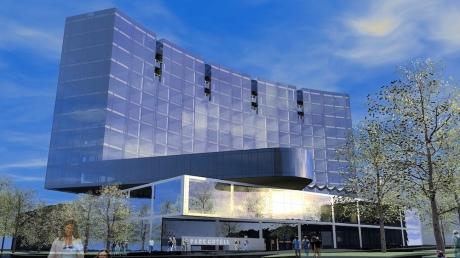 Hilton Hotel Tallinn: Eröffnung des 202-Zimmer-Tophotels mit großem Casino ist Anfang 2016