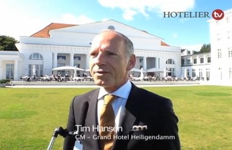 Tim Hansen, General Manager des Grand Hotels Heiligendamm, im Interview mit HOTELIER TV