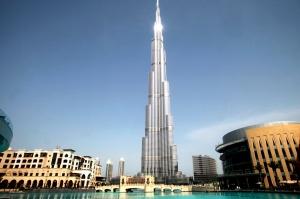 Noch immer der höchste Turm der Welt: Burj Khalifa mit Armani Hotel