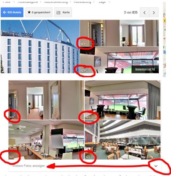 Lindner Hotel BayArena Leverkusen bei Google Hotelfinder