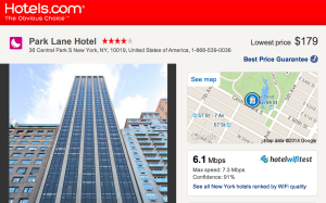 New Tool Displays WiFi Speed Information Directly Onto Hotels.com, Expedia, Booking.com and TripAdvisor 1