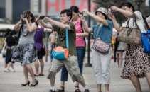 China Chinesische Touristen