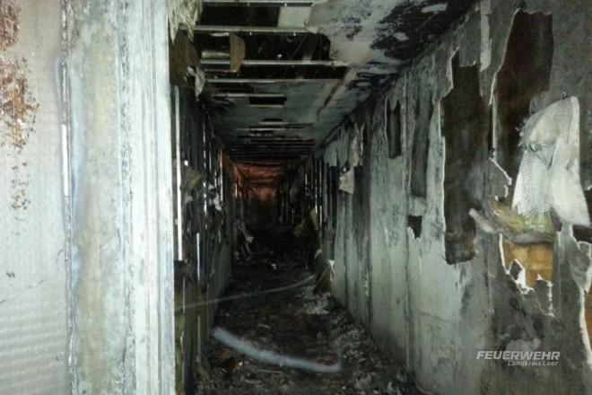 Schwerer Brand in einem Hotel auf Borkum: Millionenschaden! (Foto: Kreis-Feuerwehr Leer)