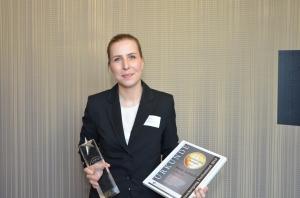 Anne Schacht ist Housekeeping Managerin des Jahres 2015