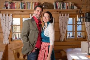Wolfgang und Christine Knapp sind im Aslmdorf Seinerzeit angekommen