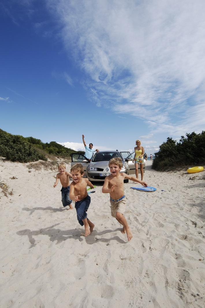 Mietwagen Familie Strand Urlaub - Sunny Cars