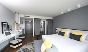 Neu eröffnetes Boardinghaus Capri by Fraser in Frankfurt/Main - Hoteldesign von JOI-Design
