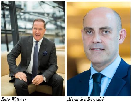 Kontrahenten: Reto Wittwer und Alejandro Bernabé / Fotos: Kempinski Hotels