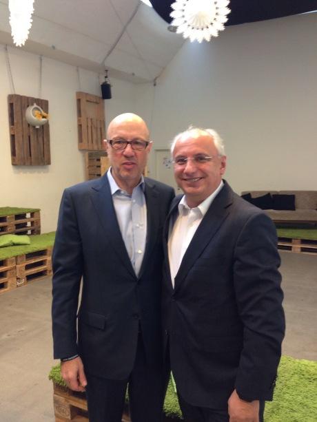 Michael Zehden (links) und Michael Mücken wollten schon länger etwas gemeinsames machen / Foto: Carsten Hennig