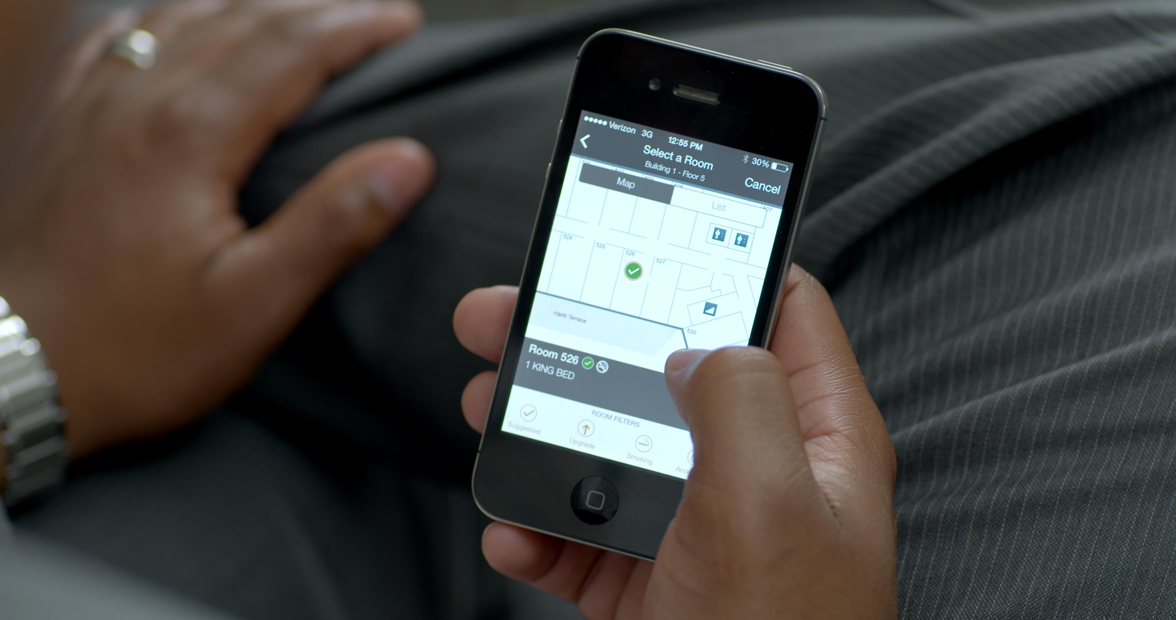 Mobiler Check-in in Zimmer wird auch bei Airbnb zum Standdard / Foto: Business Wire