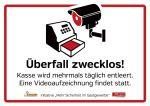 Mehr Sicherheit im Gastgewerbe - Türschild für Hotels und Restsurants (Grafik: gastronomie & hotellerie)