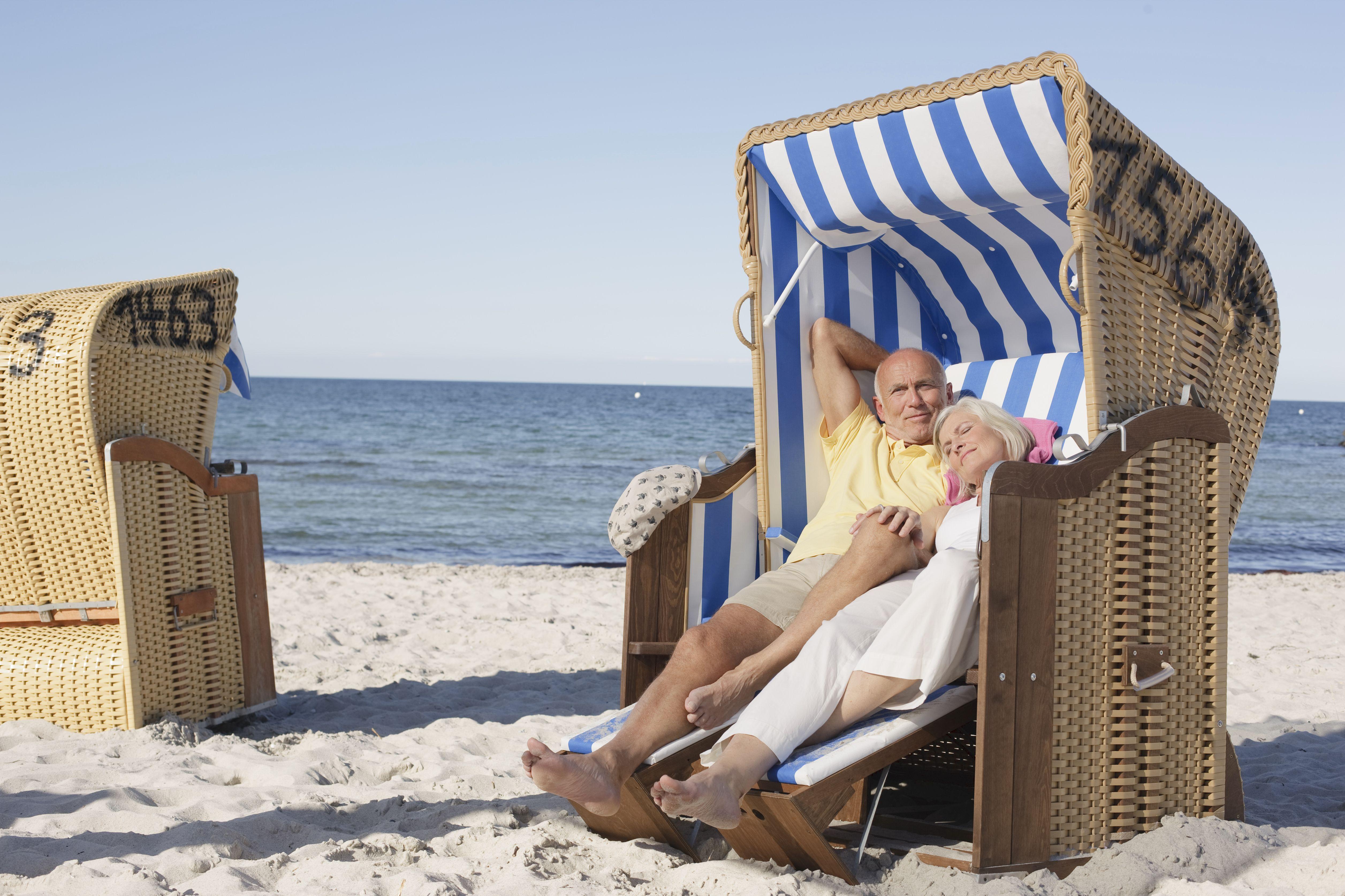 Strandkorb an Deutschlands Küsten: Bald alles ausgebucht? Foto: Michael Bader / TASH