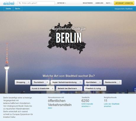 Davon dürfen sich Hotels eine Scheibe abschneidet: Airbnb bietet Authentizität - Anschluss an den Kiez (Screenshot: Airbnb)