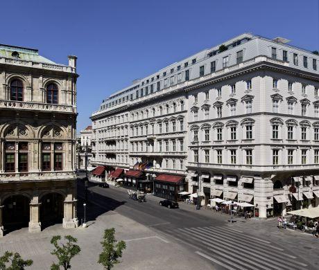 Hotel Sacher Vienna - Facade