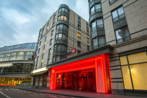 Radisson RED Brussels Exterior