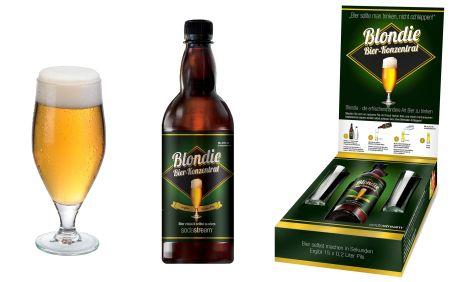 """Pils zum Selbermachen - Bierkonzentrat """"Blondie"""" von Soda Stream"""