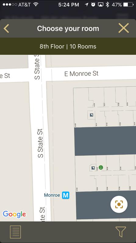 """Hilton Worldwide intergiert Google Maps in """"HHonours""""-App"""