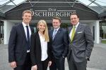 Neues Führungsteam im Hotel Öschberghof in Donaueschingen: (von links) Alexander Joos, Mirjam Felisoni, Mirko Bartl, Alexander Aisenbrey.