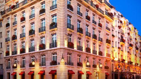 Hotel Le Bristol Paris - Fassade
