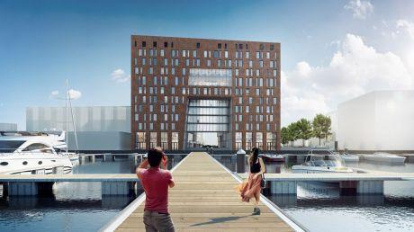 NOVUM Select Hotel City Harbour Amsterdam_ artist impression  (1)