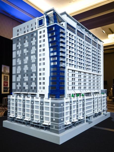 Marriott Nashville - Lego model