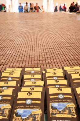 Radovljica 2016 Guinness record largest chocolate