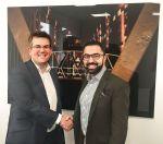 David Kellet von IHG und David Etmenan von Novum: 20 neue Hotels per Franchising in Europa in Planung (Foto: IHG/Novum)