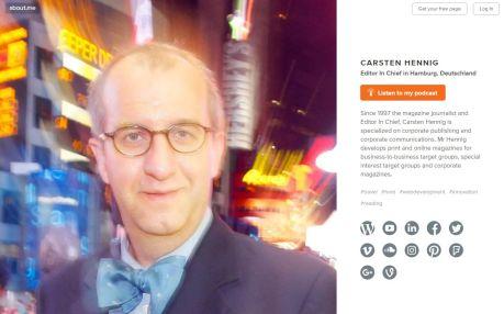 Carsten Hennig about me