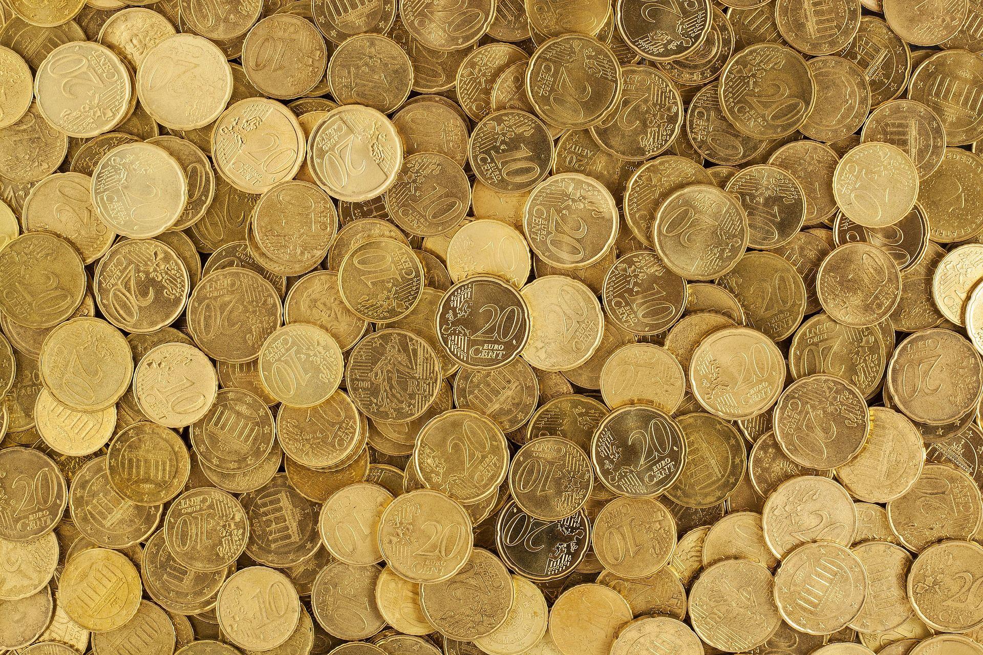 Geld Münzen - Pixabay