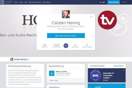 Hospitality Leaders Profile Carsten Hennig