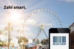 Wiesn digital: Mit Blue Code bargeldlos zahlen auf dem Oktoberfest München (Grafik: Blue Code)