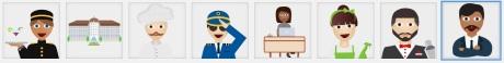 Hotel Emoji - Übersicht